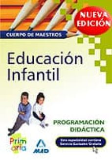 Carreracentenariometro.es Cuerpo De Maestros: Educacion Infantil. Programacion Didactica Image