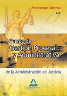 Vinisenzatrucco.it Cuerpo De Gestion Procesal Y Administrativa (Promocion Interna). Test Image