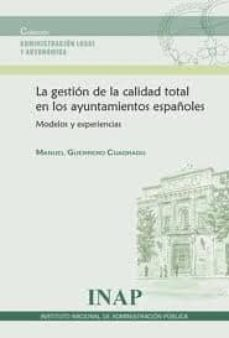 Inmaswan.es Gestion De La Calidad Total En Los Ayuntamientos Españoles: Model Os Y Experiencias Image
