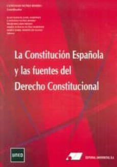 la constitucion española y las fuentes del derecho constitucional (nuevo curso 2014-2015)-juan manuel goig martinez-cayetano nuñez rivero-9788479914318