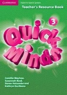 Descargar libros de texto de libros electrónicos QUICK MINDS LEVEL 3 TEACHER S RESOURCE BOOK SPANISH EDITION 9788483233818 de  iBook FB2 ePub