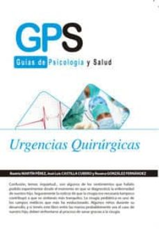 Libros de descarga de audio en inglés gratis URGENCIAS QUIRURGICAS 9788490880418 de BEATRIZ PEREZ MARTIN (Spanish Edition)