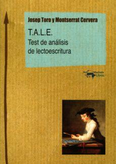 t.a.l.e. (ebook)-josep toro-montserrat cervera-9788491141518