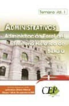 Inmaswan.es Administrativos De La Administracion Foral De Bizkaia (Temario Vo L.1) Image