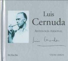 antologia personal (incluye cd audio)-luis cernuda-9788498950618