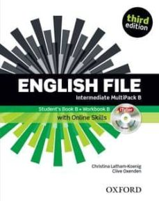 Permacultivo.es English File Intermediate Student S Book+workbook Pack B 3ed Image