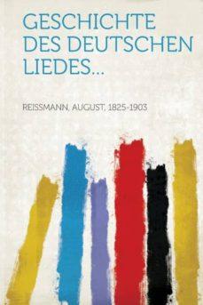 Padella.mx Geschichte Des Deutschen Liedes... Image