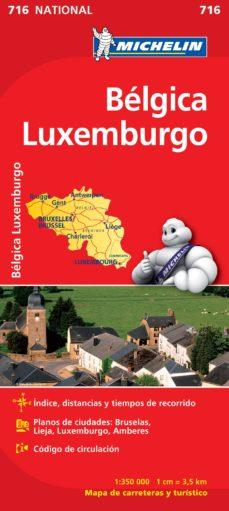 mapa belgica, luxemburgo 2012 (ref. 716)-9782067170728