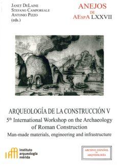 arqueología de la construcción v-9788400101428