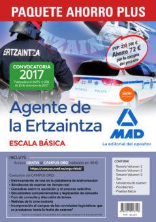 Ojpa.es Paquete Ahorro Plus Agentes De La Ertzaintza Escala Básica. (Incluye Image