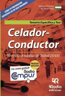 celador-conductor del sas: temario especifico y test-jose maria espinar martinez-9788416232628