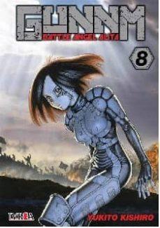 gunnm (battle angel alita) nº 8-yukito kishiro-9788417490928