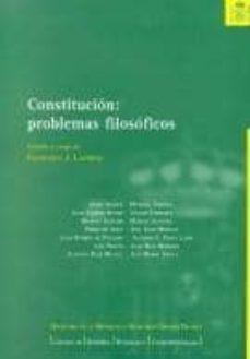Inciertagloria.es Constitucion: Problemas Filosoficos Image