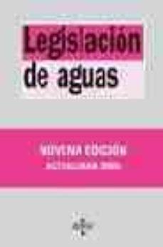 Permacultivo.es Legislacion De Aguas (9ª Ed.) Image