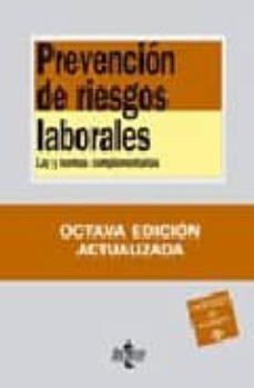 Trailab.it Prevencion De Riesgos Laborales: Ley Y Normas Complementarias (8ª Ed.) Image