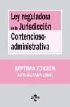 Titantitan.mx Ley Reguladora De La Jurisdiccion Contencioso Administrativa (7ª Ed.) Image