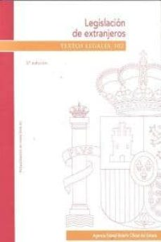 Lofficielhommes.es Legislacion De Extranjeros (5ª Ed.) Image