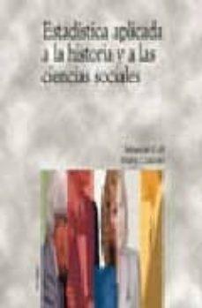 estadistica aplicada a la historia y a las ciencias sociales-sebastian coll-9788436812428