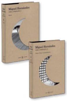 obra completa miguel hernandez (2 vols.)-miguel hernandez-9788467032628