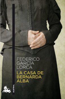 Descarga gratuita de un libro de texto. LA CASA DE BERNARDA ALBA 9788467033328 PDB in Spanish