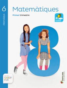 matematiques 6º primaria  saber fer (ed. 2015) balears-9788468094328