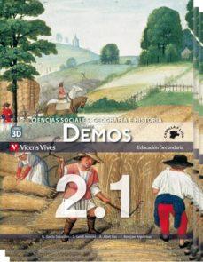 Permacultivo.es Nuevo Demos 2º Secundariacastilla Y Leon Libro 1, 2 Y 3 Image