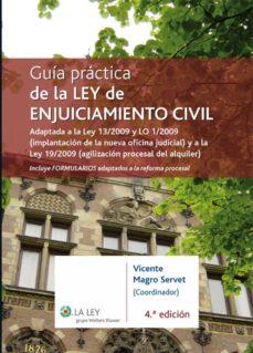 guía práctica de la ley de enjuiciamiento civil (ebook)-vicente magro servet-9788481266528