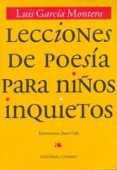 Inmaswan.es Lecciones De Poesia Para Niños Inquietos (2ª Ed.) Image