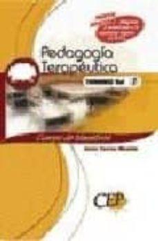 Encuentroelemadrid.es Temario Oposiciones. Vol.i. Cuerpo De Maestros. Pedagogia Terapeu Tica Image