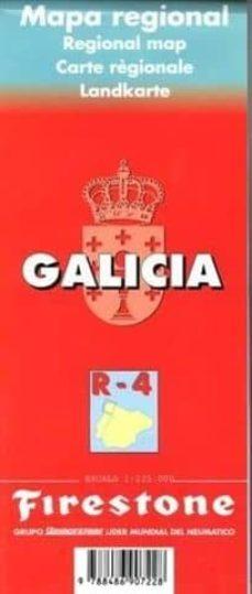 Inciertagloria.es Mapa Galicia, R-4 (Material Cartografico) Image