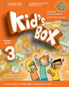 Epub libros de computadora descarga gratuita KID S BOX ESS 3 2ED UPDATED PB RTF