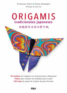 origamis tradicionales japoneses-francesco decio-vanda battaglia-9788490568828