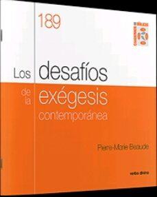 Descargar google books en formato pdf. LOS DESAFÍOS DE LA EXÉGESIS CONTEMPORÁNEA