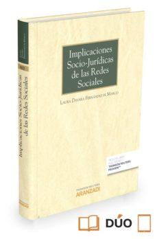 implicaciones socio-jurídicas de las redes sociales-laura davara fernández de marcos-9788490989128