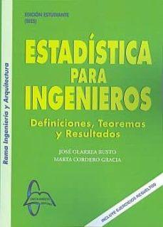 Eldeportedealbacete.es Estadistica Para Ingenieros: Definiciones Teoremas Resultados Image