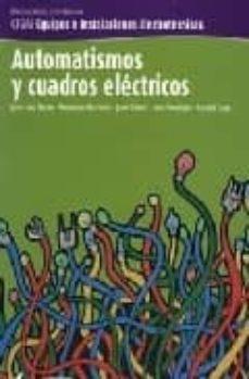 automatismos y cuadros electricos-9788496334328