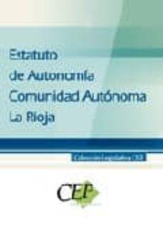 Cronouno.es Estatuto De Autonomia Comunidad Autonoma La Rioja Image