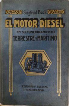 EL MOTOR DIESEL - SIEGFRID BOCK |