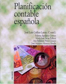 PLANIFICACIÓN CONTABLE ESPAÑOLA - VVAA   Adahalicante.org