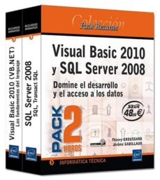 Permacultivo.es Visual Basic 2010 Y Sql Server 2008.pack 2 Libros: Domine El Desa Arrollo Y El Acceso A Los Datos Image