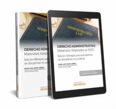 Descarga gratuita para libros. DERECHO ADMINISTRATIVO CHM de MARIA LUISA GOMEZ JIMENEZ in Spanish