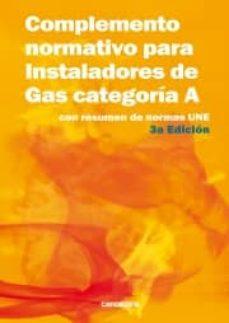 Upgrade6a.es Complemento Normativo Para Instaladores De Gas Categoria A Image