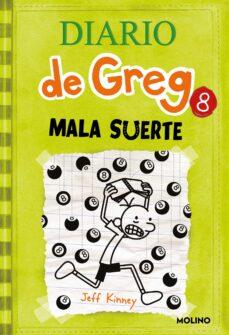 diario de greg 8: mala suerte-jeff kinney-9788427204638