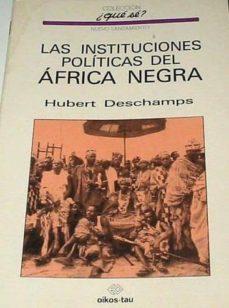 Chapultepecuno.mx Las Instituciones Politicas Del Africa Negra Image