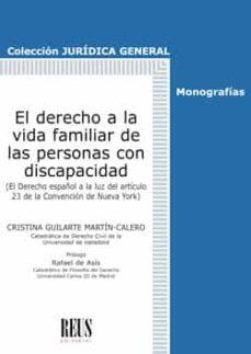 Audiolibro gratuito en línea sin descarga EL DERECHO A LA VIDA FAMILIAR DE LAS PERSONAS CON DISCAPACIDAD 9788429021738 en español de CRISTINA GUILARTE MARTIN-CALERO