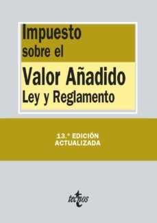 Permacultivo.es Impuesto Sobre El Valor Añadido (13ª Ed.): Ley Y Reglamento Image