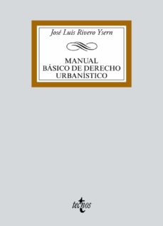 manual básico de derecho urbanístico-jose luis rivero ysern-9788430973538