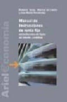 Chapultepecuno.mx Manual De Instrumentos De Renta Fija: Estructurados De Tipos De I Nteres Y Credito Image