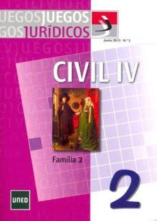 Padella.mx Juegos Jurídicos. Derecho Civil Iv: Familia 2 Image