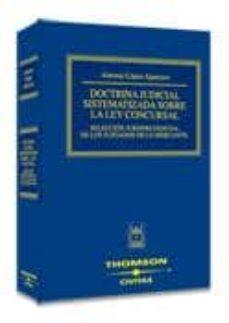 Cdaea.es Doctrina Judicial Sistematizada Sobre La Ley Concursal: Seleccion Jurisprudencial De Los Juzgados De Lo Mercantil Image